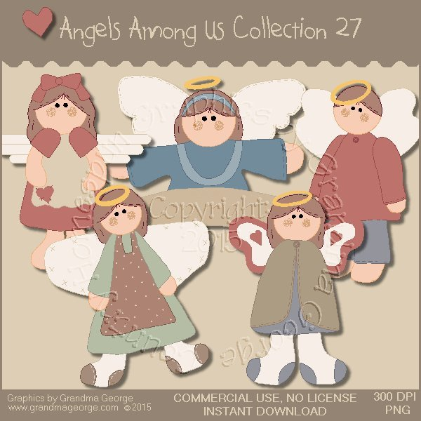 Angels Among Us Graphics Collection Vol. 27