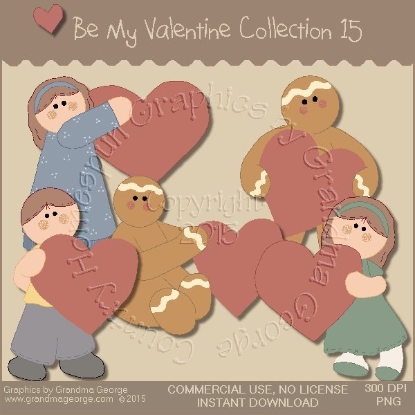 Be My Valentine Graphics Collection Vol. 15