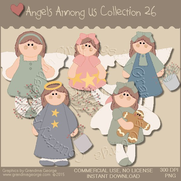 Angels Among Us Graphics Collection Vol. 26