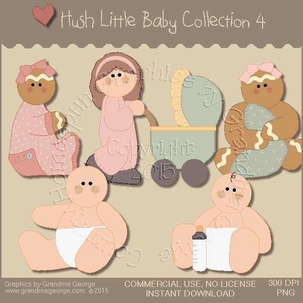 Hush Little Baby Graphics Collection Vol. 4