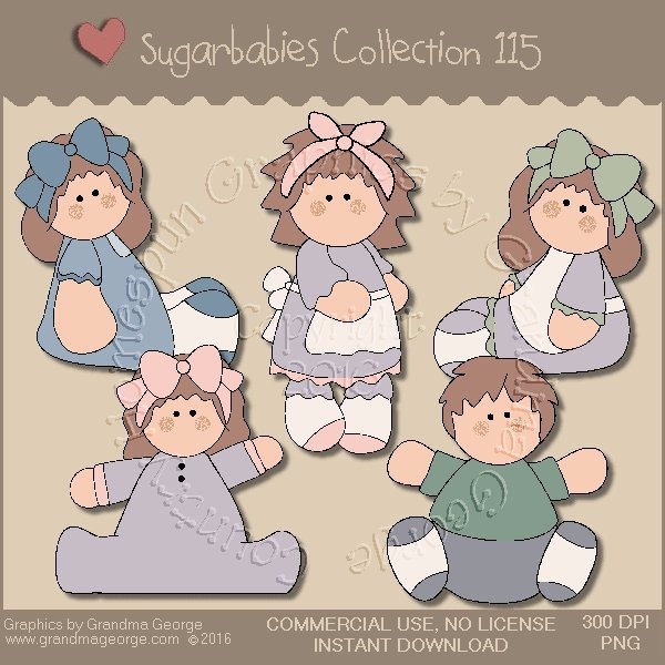 Sugarbabies Country Graphics Collection Vol. 115