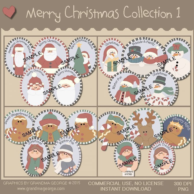Merry Christmas Collection Vol. 1