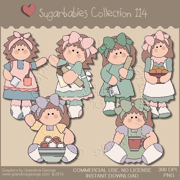 Sugarbabies Country Graphics Collection Vol. 114