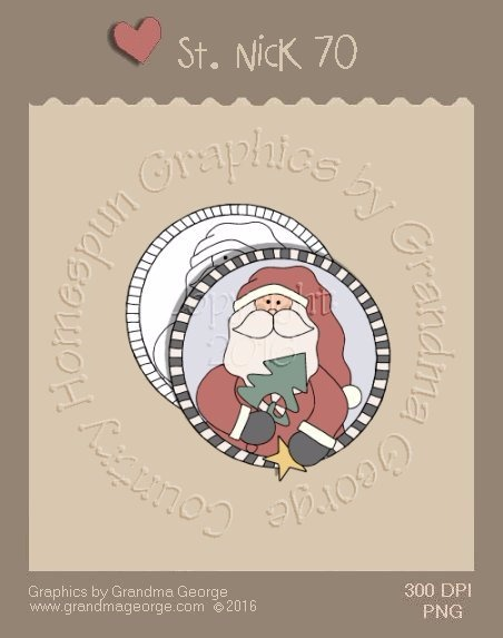 St. Nick Single Country Graphic 70