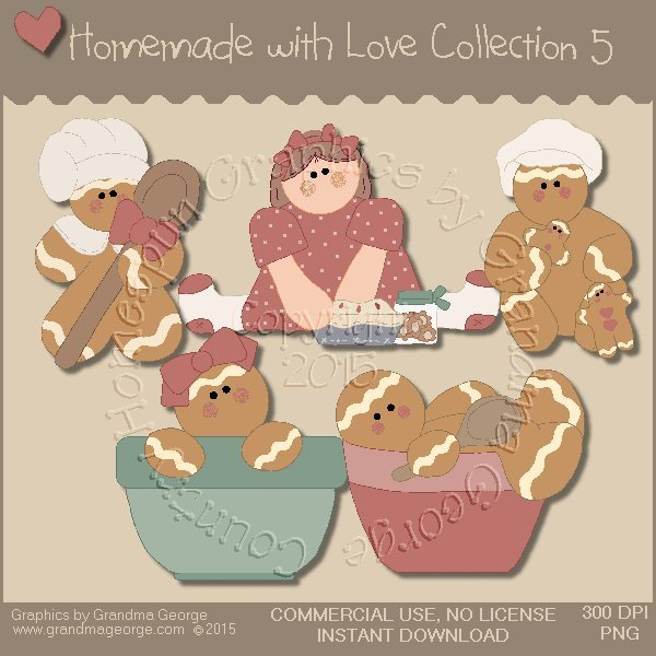 Homemade with Love Graphics Collection Vol. 5