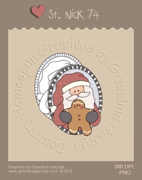 St. Nick Single Country Graphic 74
