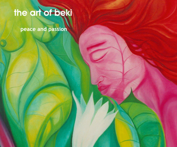 Beki Book Peace and Passion Hard back