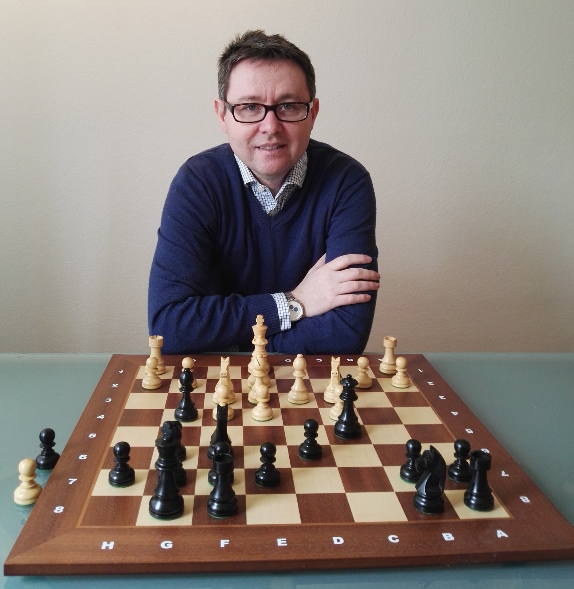60 Min. Personal Chess Lesson with FIDE Master Barth