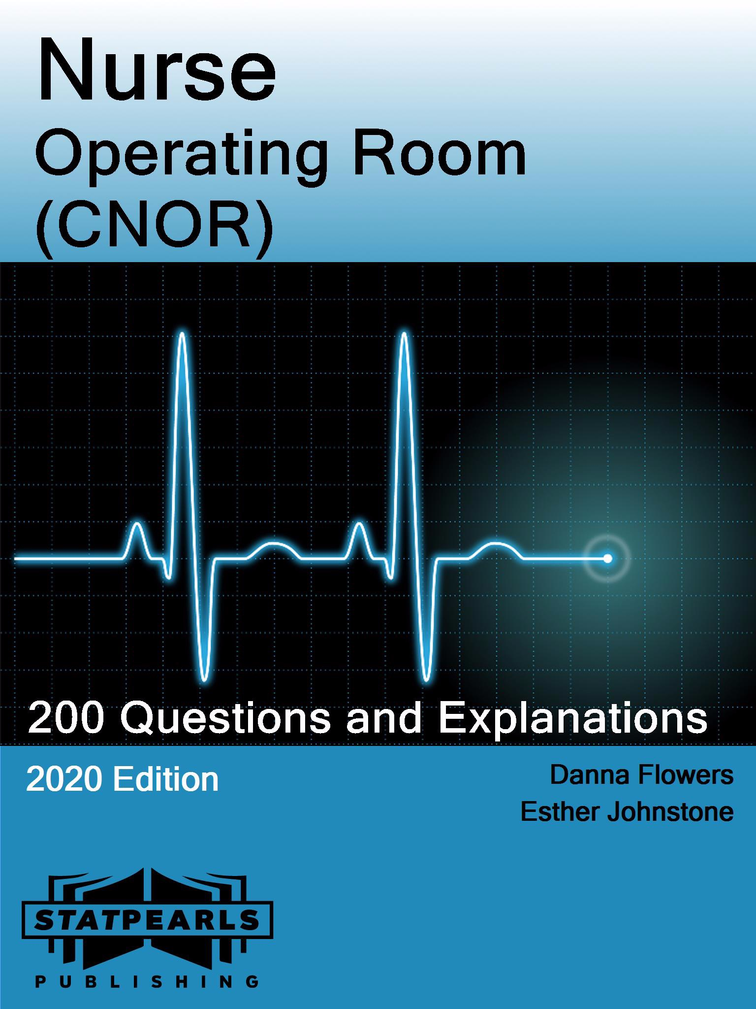 Nurse Operating Room (CNOR)