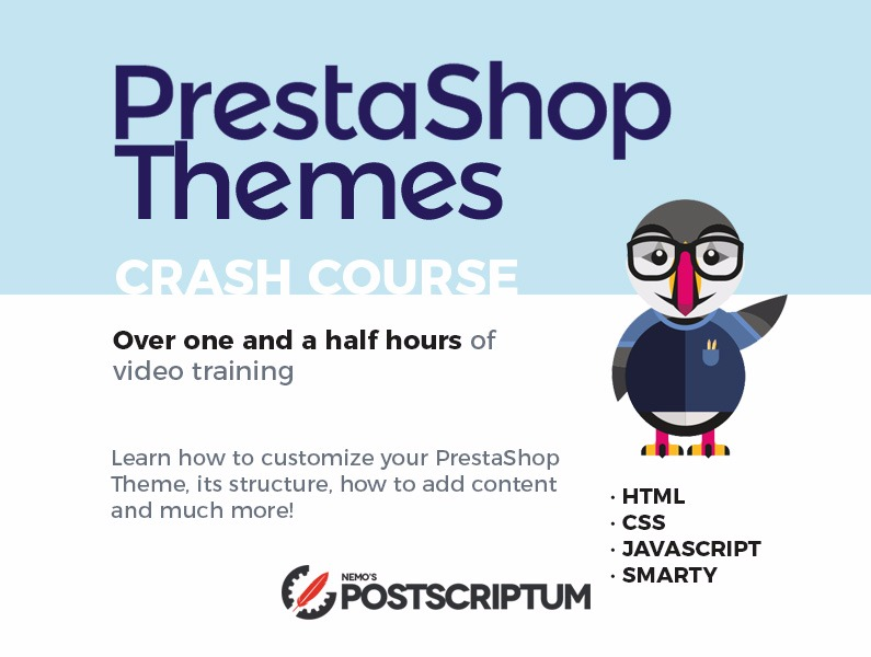 PrestaShop Themes Crash Course