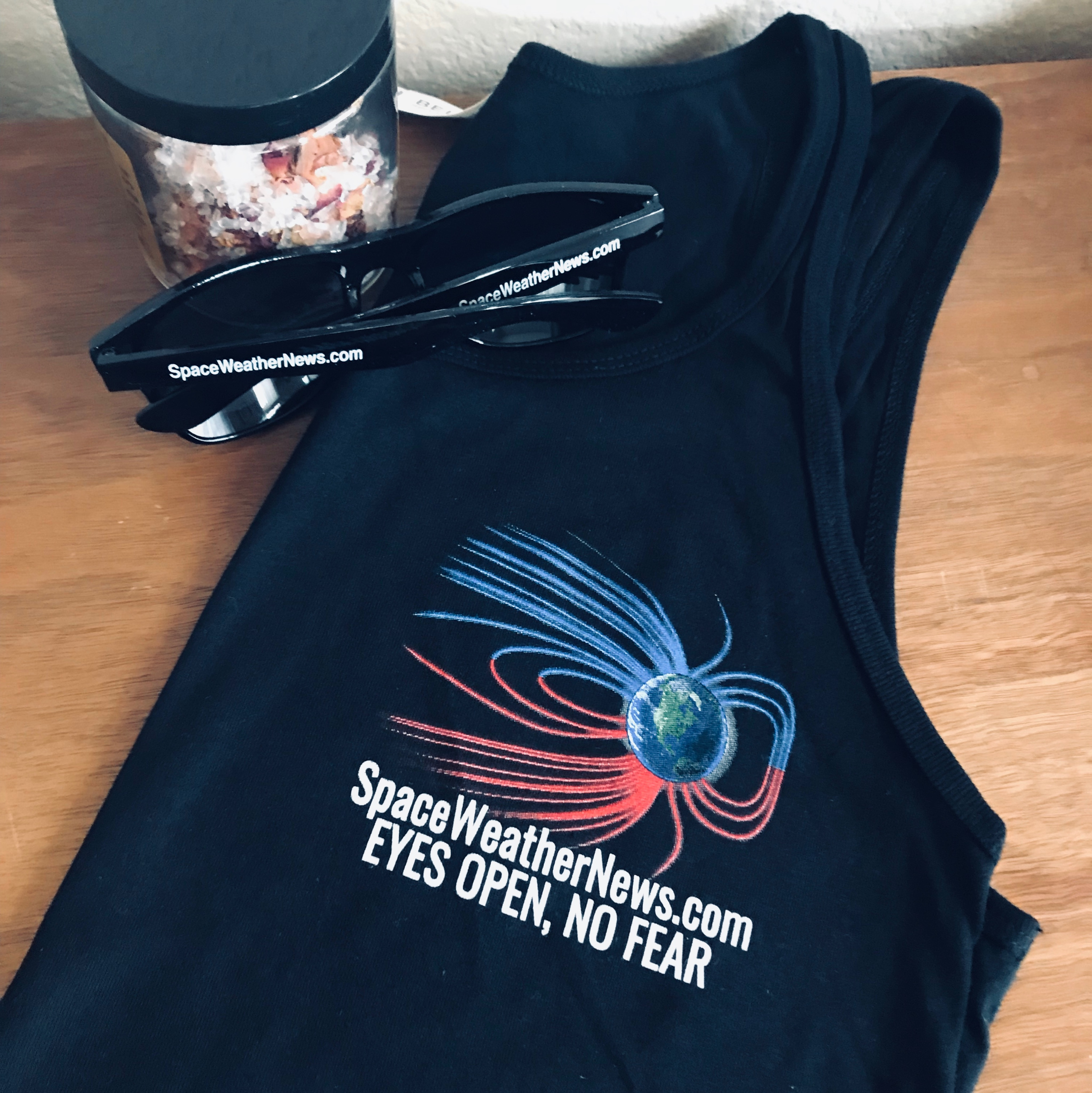 Space Weather News Women's Tank