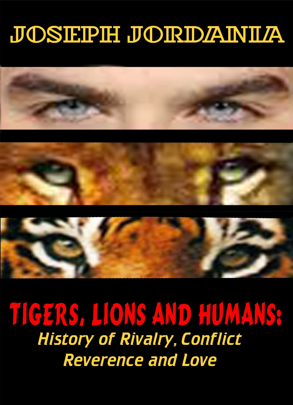e-Book - Tigers, Lions and Humans: History of Rivalry, Conflict, Reverence and Love