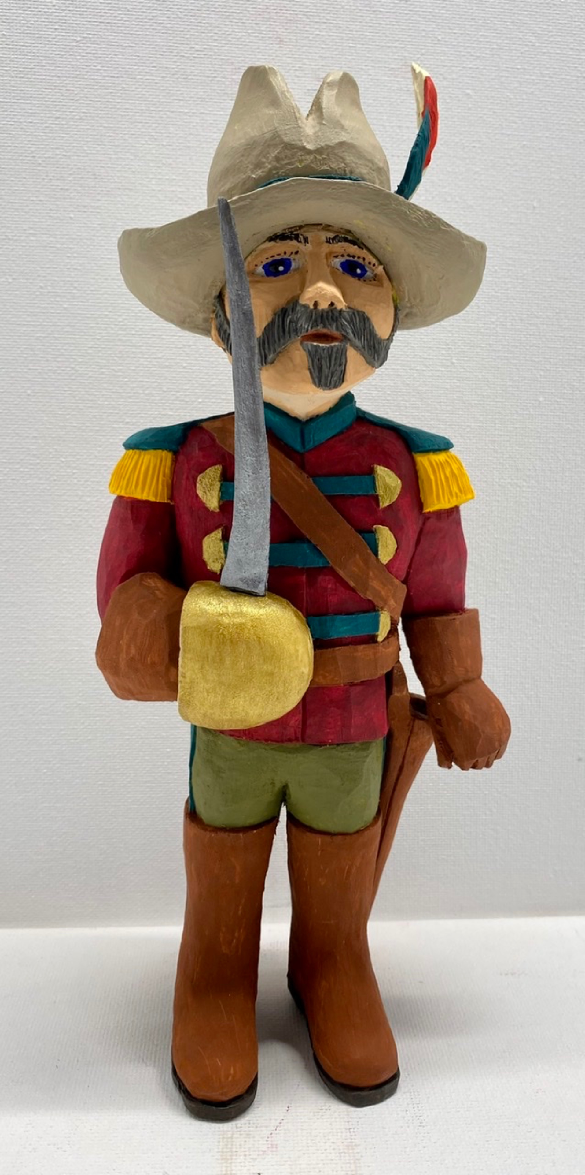 Folk Art Soldier
