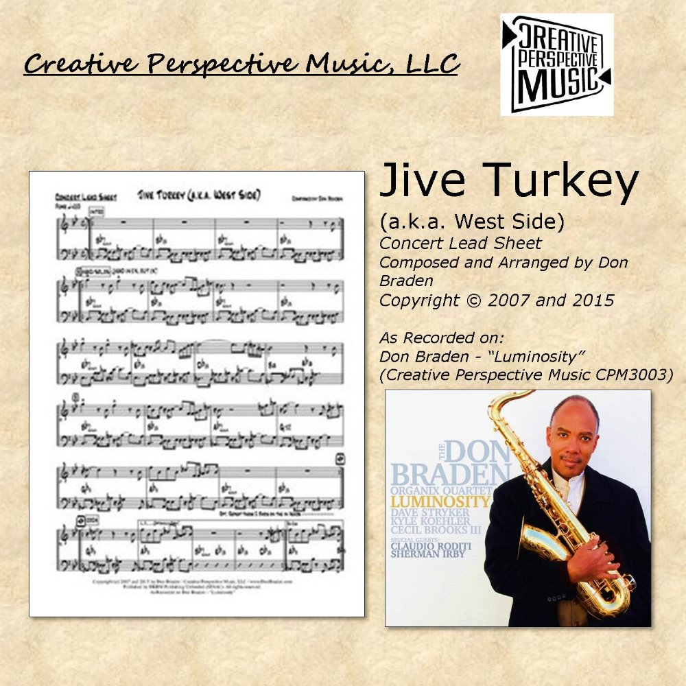 Jive Turkey (a.k.a. West Side) - Concert Lead Sheet