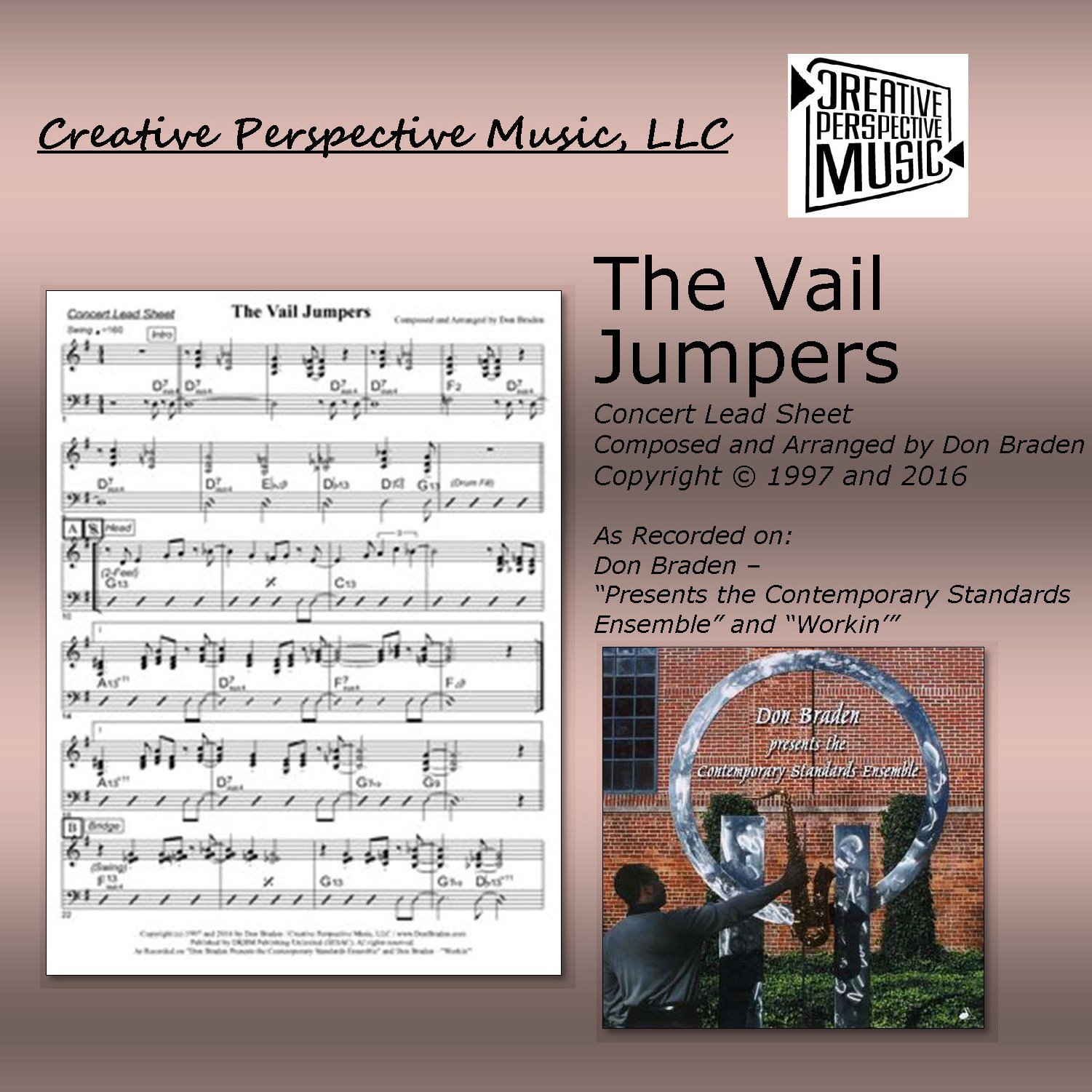 The Vail Jumpers - Concert Lead Sheet