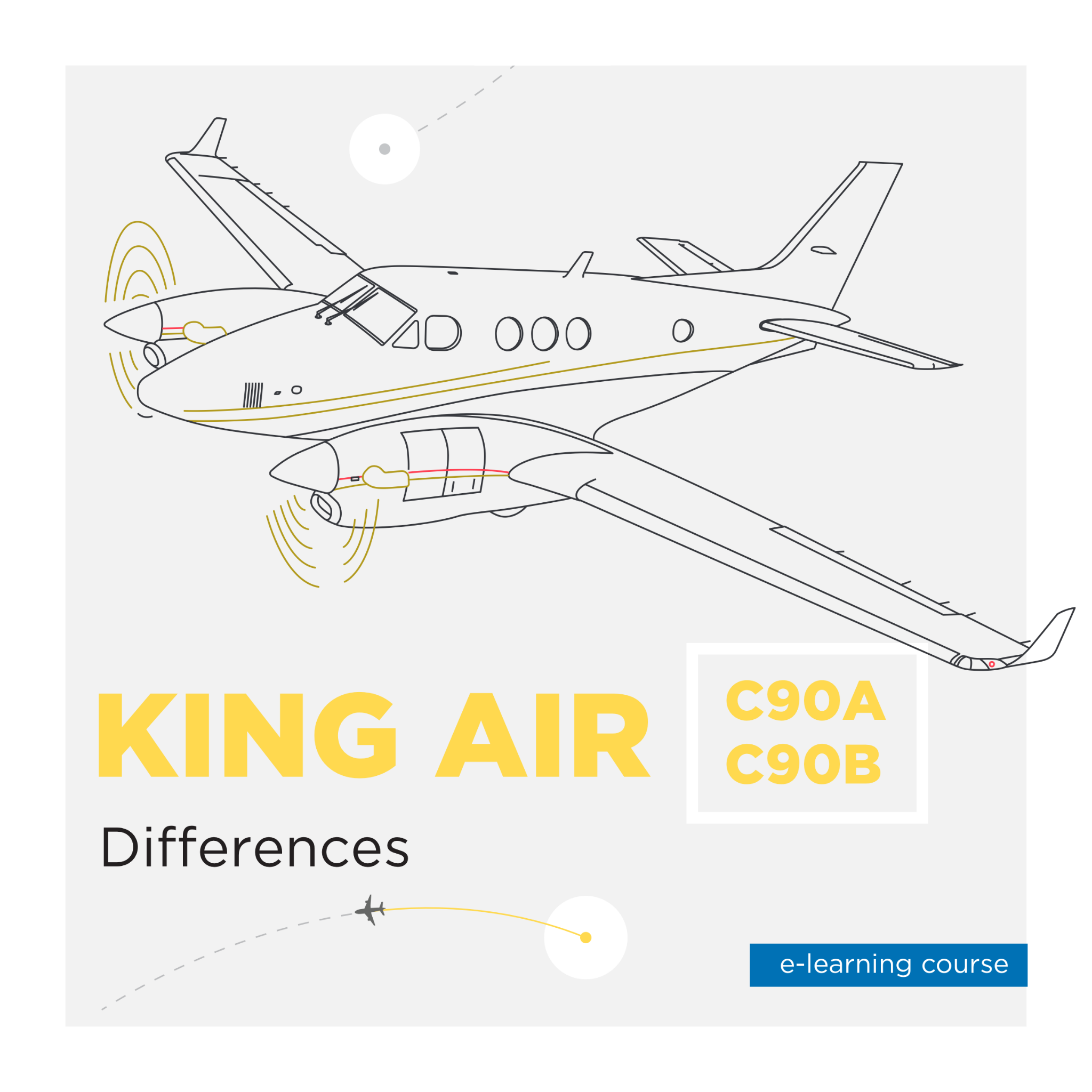 King Air Differences C-90 A/B E-Learning Course