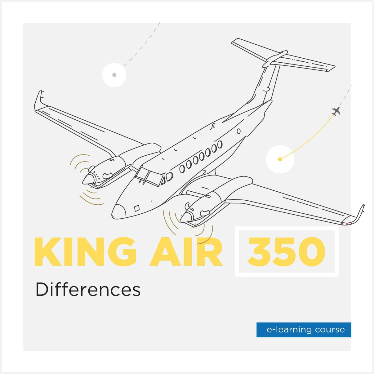 King Air 350 Differences