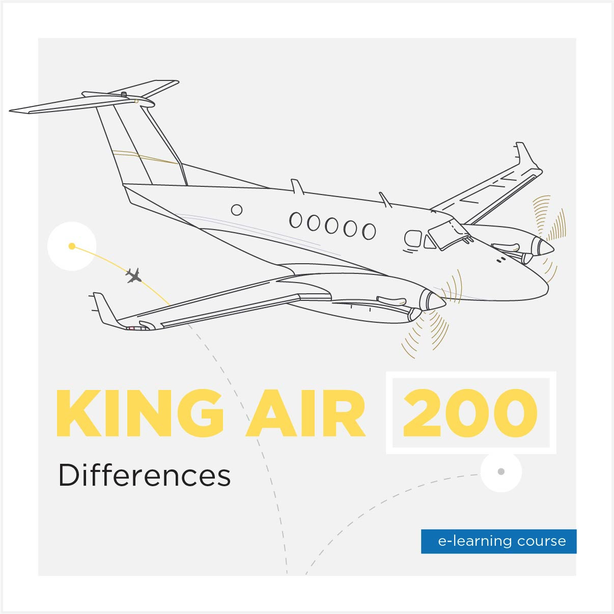 King Air 200 Differences