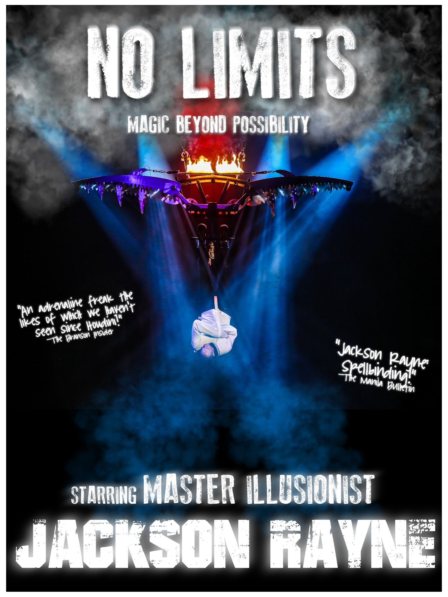 No Limits: Magic Beyond Possibility Official Show Poster