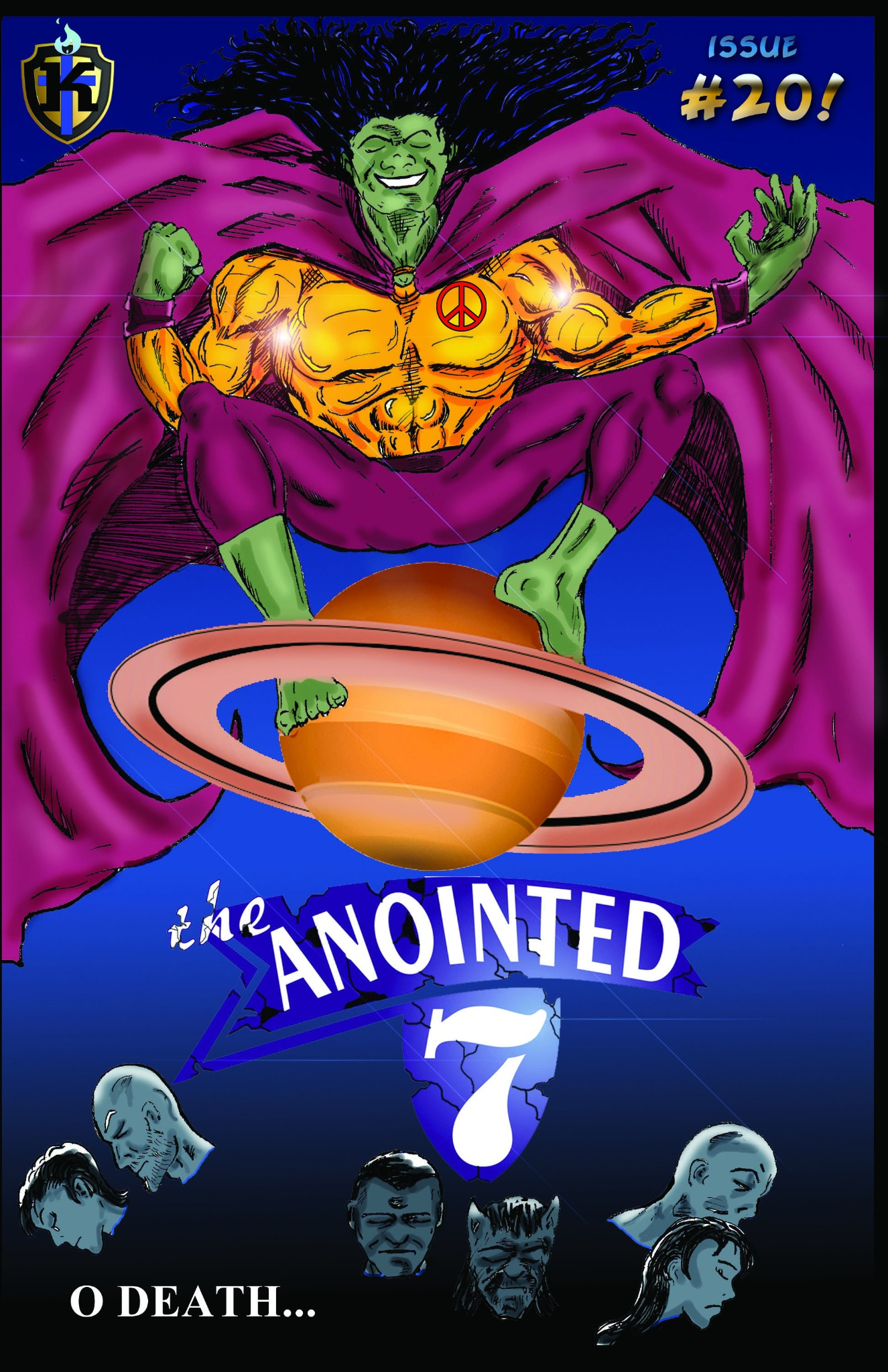 #20 The Anointed 7  (Digital download)