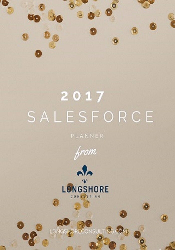 2017 Salesforce Planner from Longshore Consulting