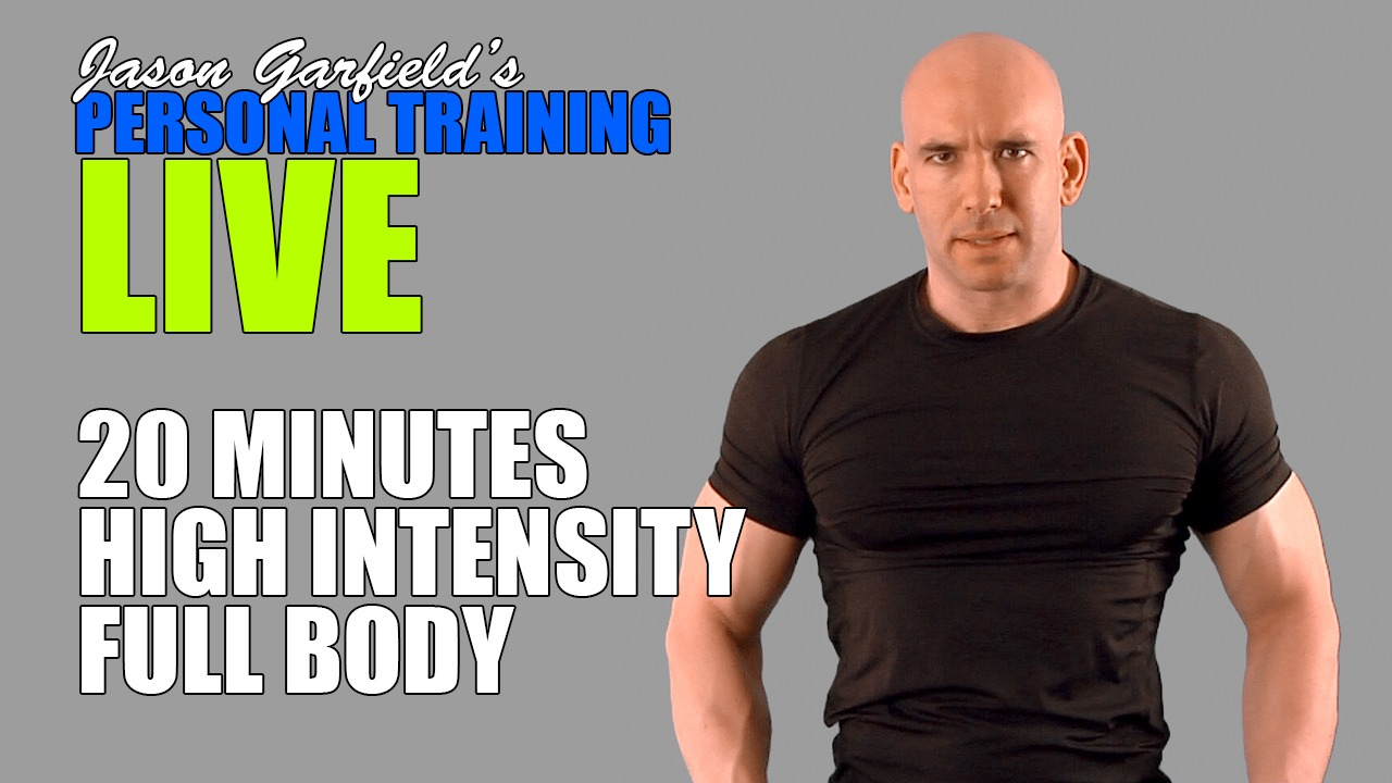 20 Minute HIIT Full Body - 1 Session