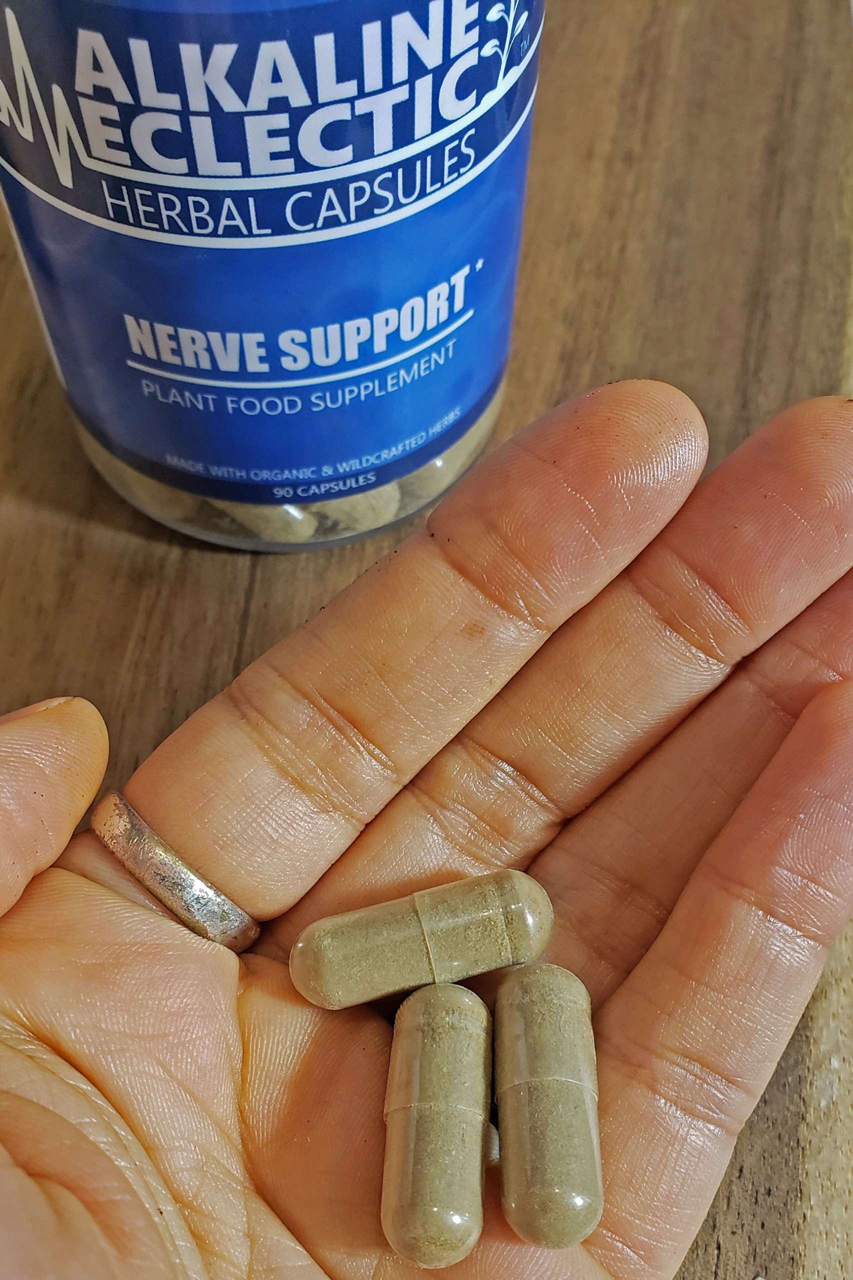 NERVE SUPPORT HERBAL CAPSULES