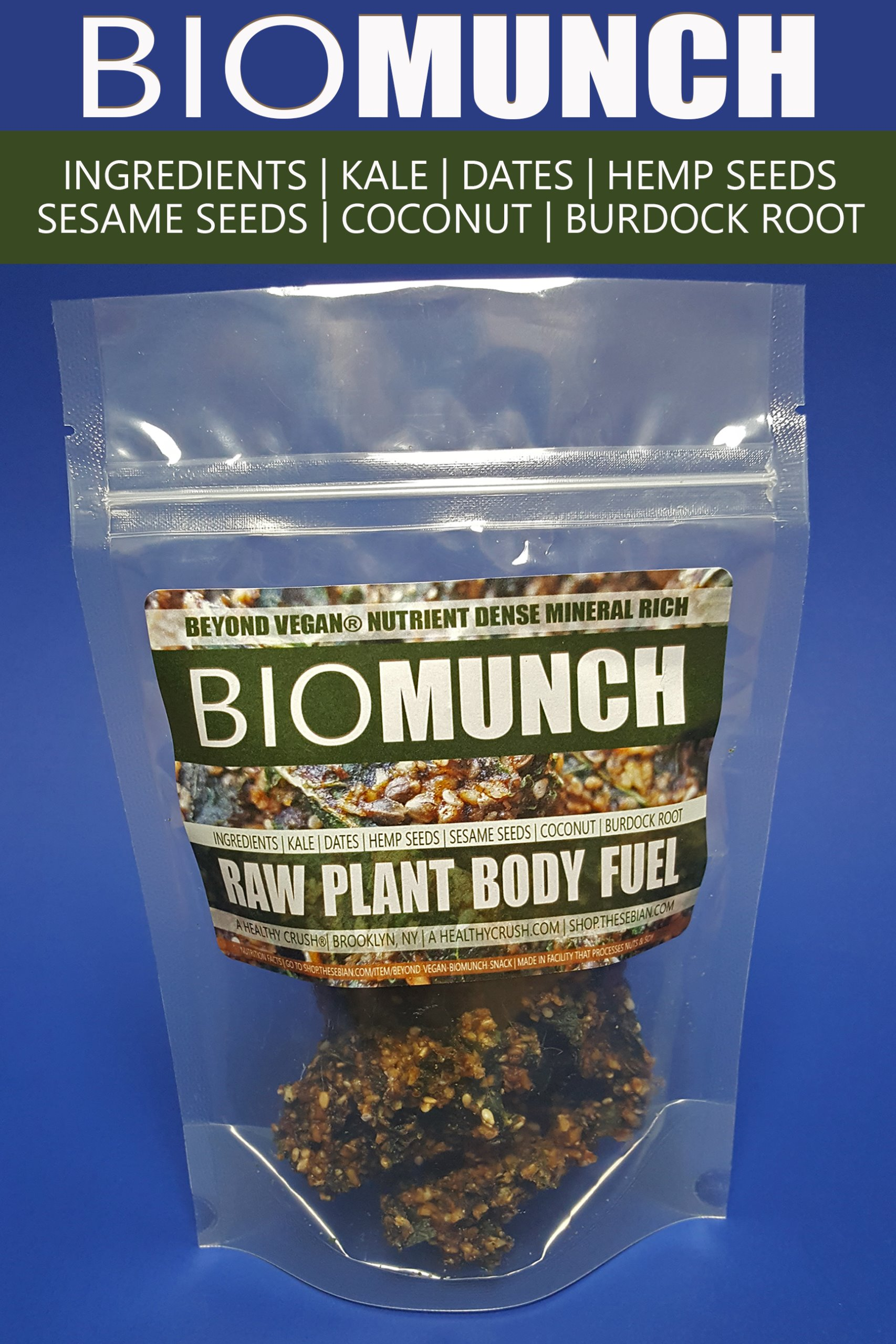 BEYOND VEGAN BIOMUNCH SNACK