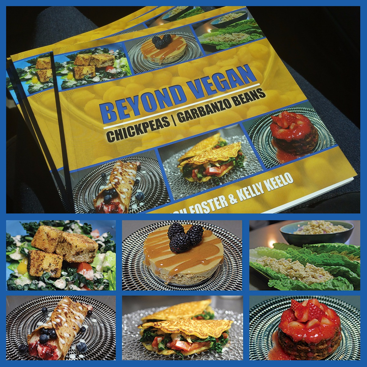 BEYOND VEGAN | CHICKPEAS COOKBOOK | PAPERBACK