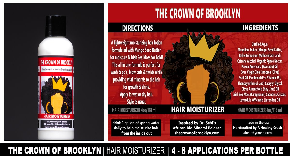THE CROWN OF BROOKLYN HAIR DETOX KIT