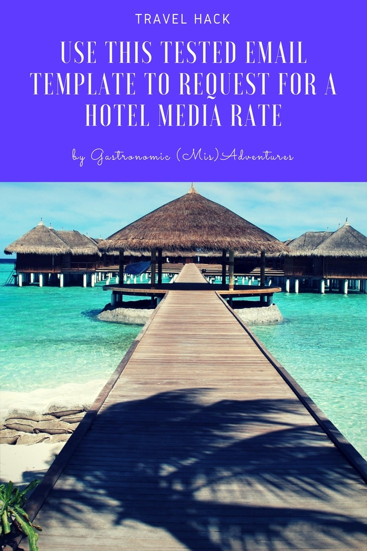 Email template for requesting media rate from hotels [UPDATED AUG 2020]