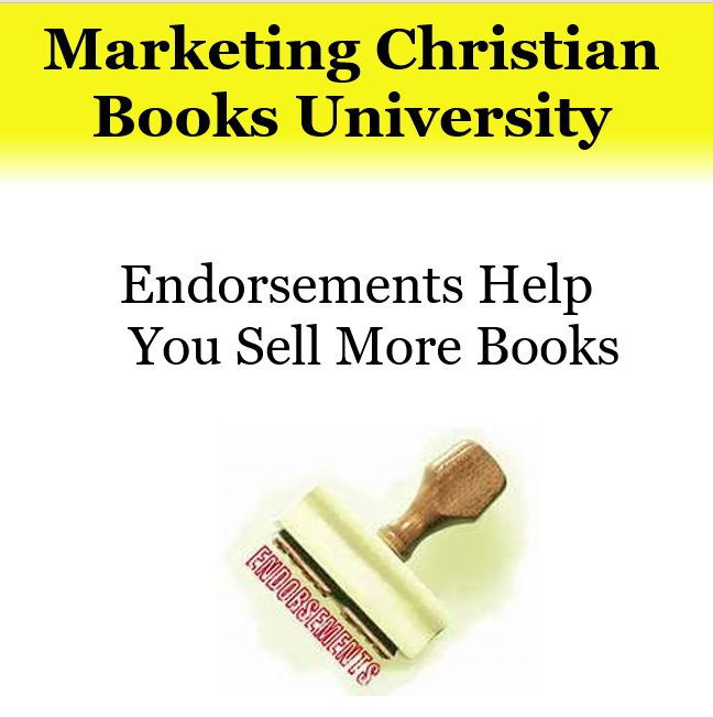 Endorsements Help You Sell More Books