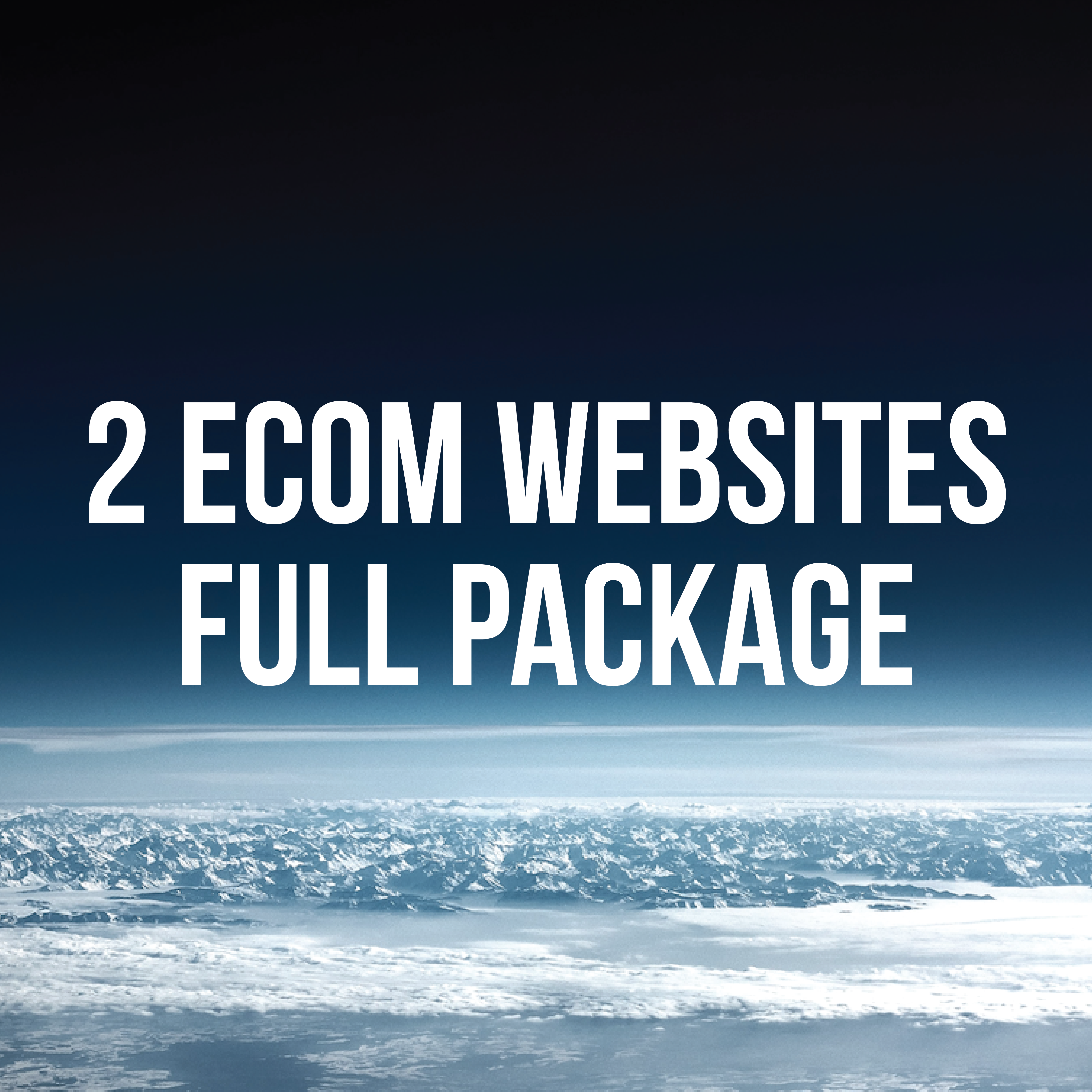 2 ECOM WEBSITES
