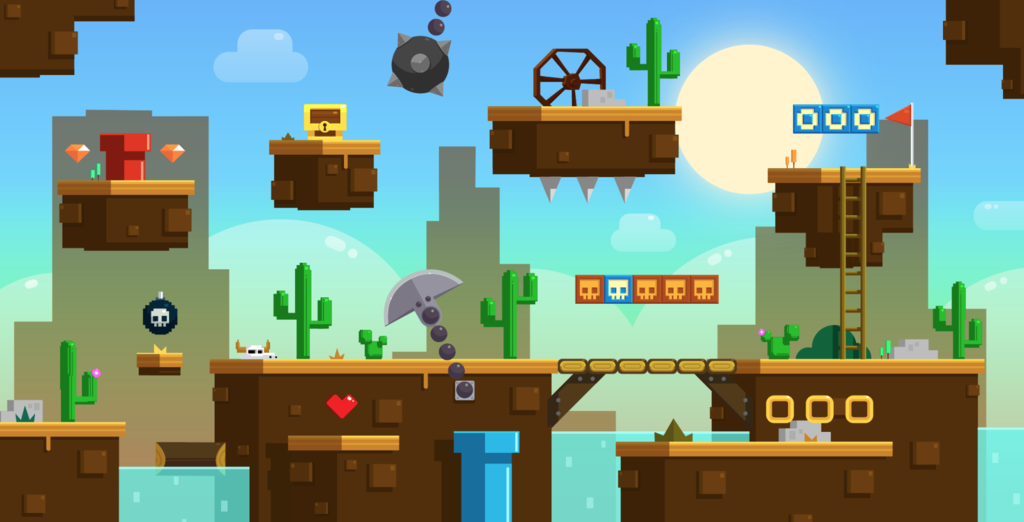 Block West Game Tile Pack