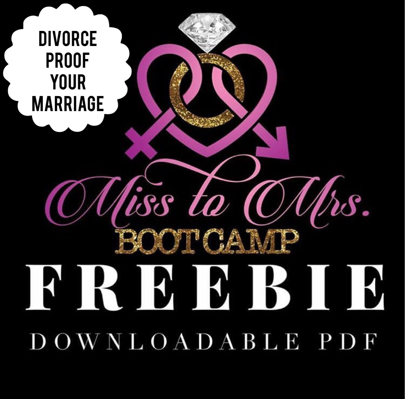 Miss to Mrs. Boot Camp Study Guide (Divorce Proofing Marriage Steps)