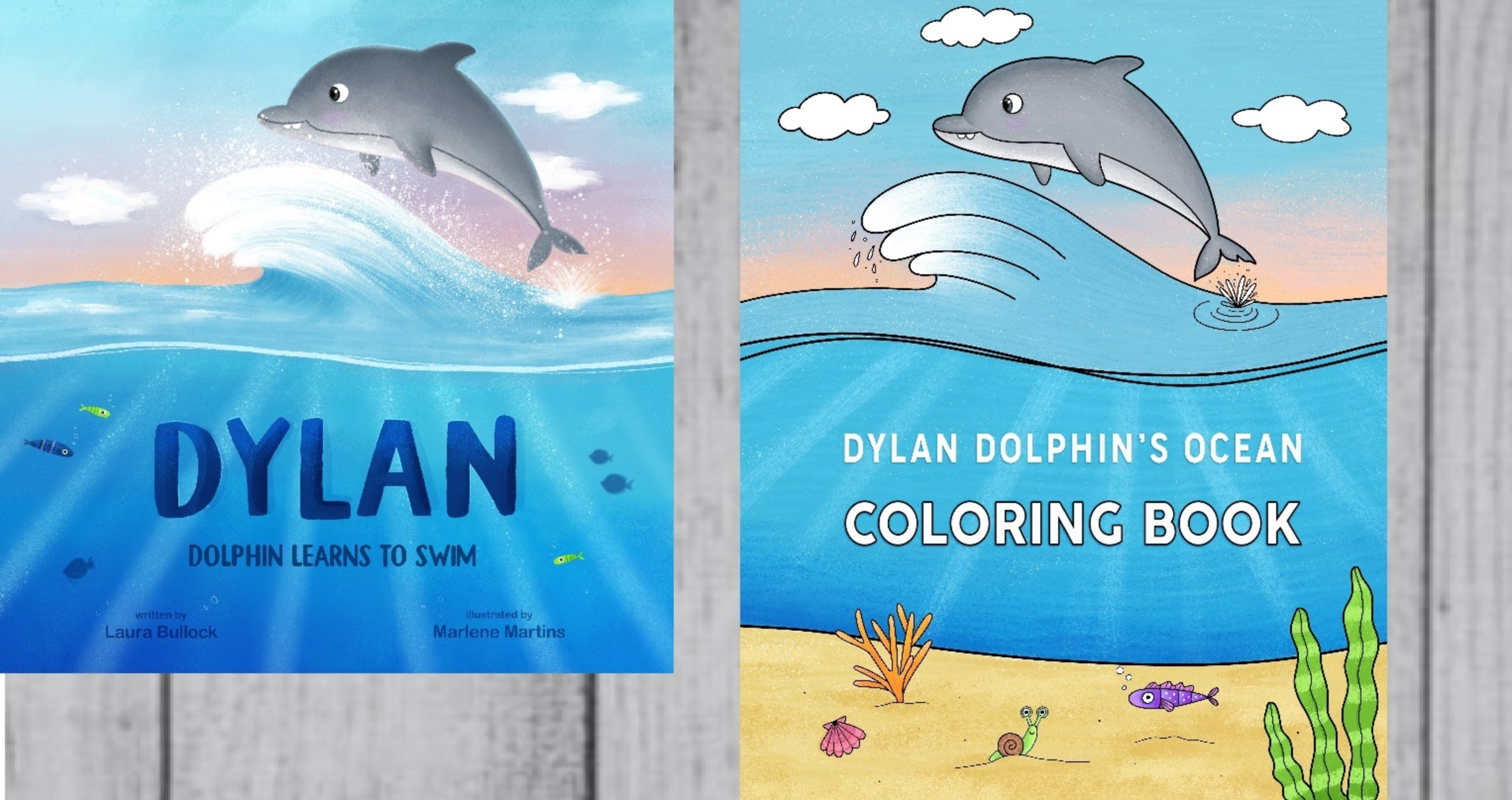 Dylan Dolphin - 2 Book Package