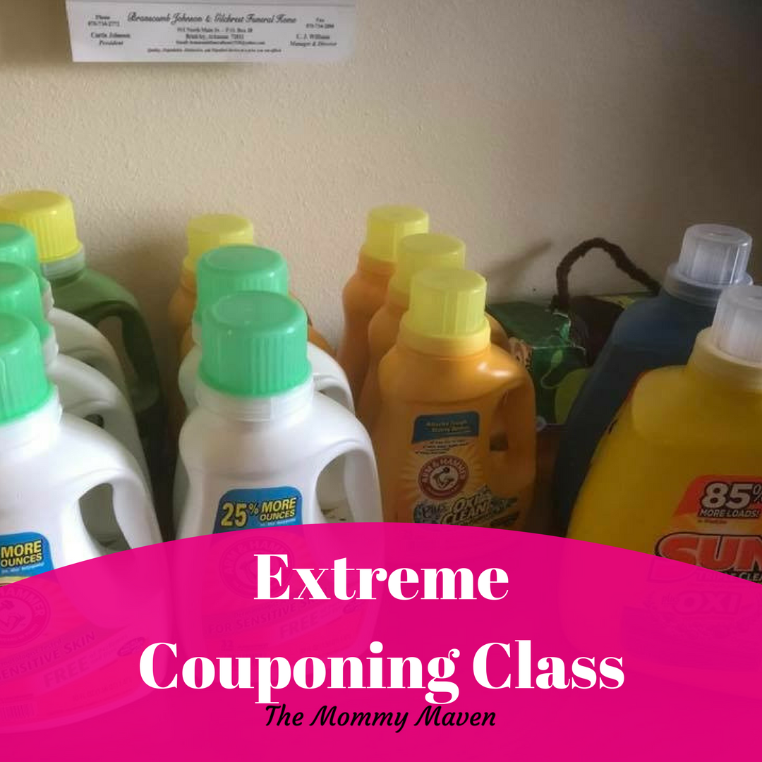 Extreme Couponing Class