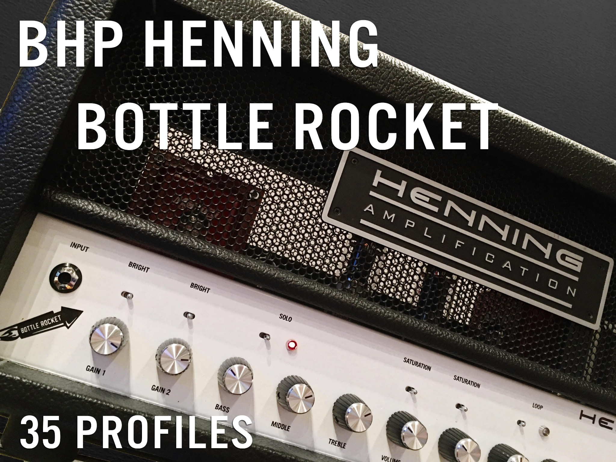 "BHP Henning ""Bottle Rocket"""