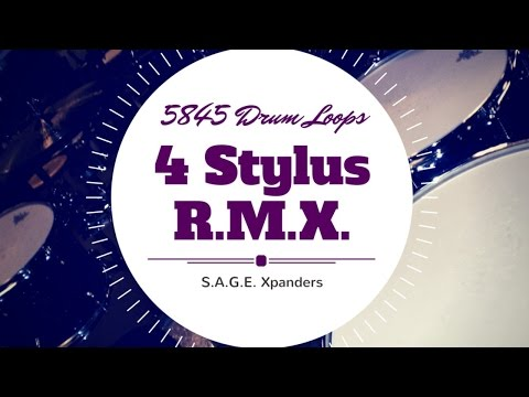 5845 Drum Loops for Stylus RMX