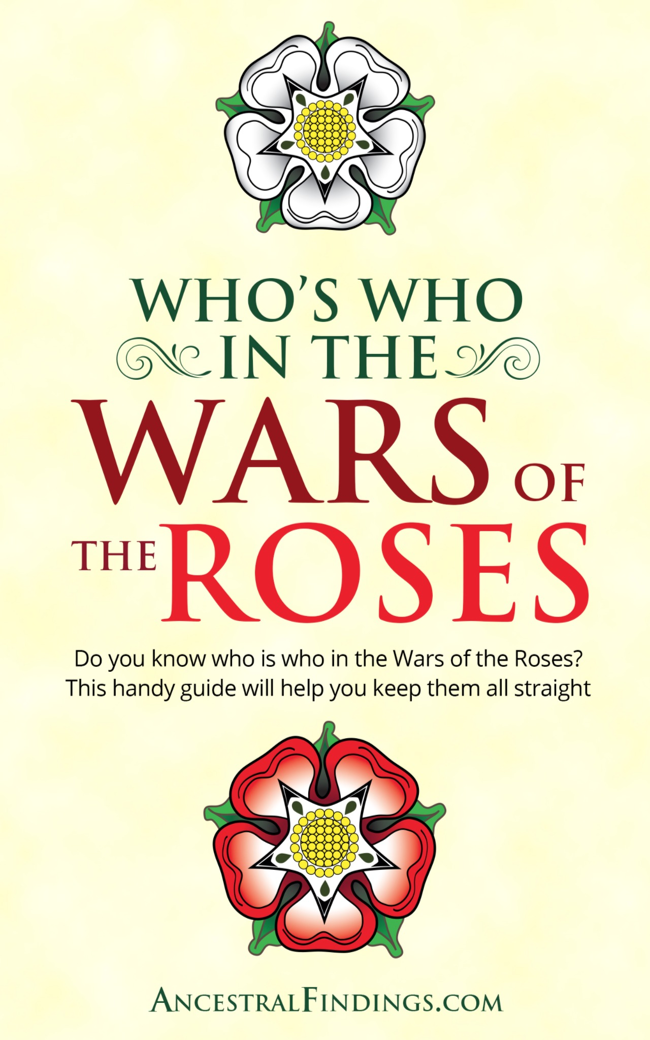 Who's Who in the Wars of the Roses