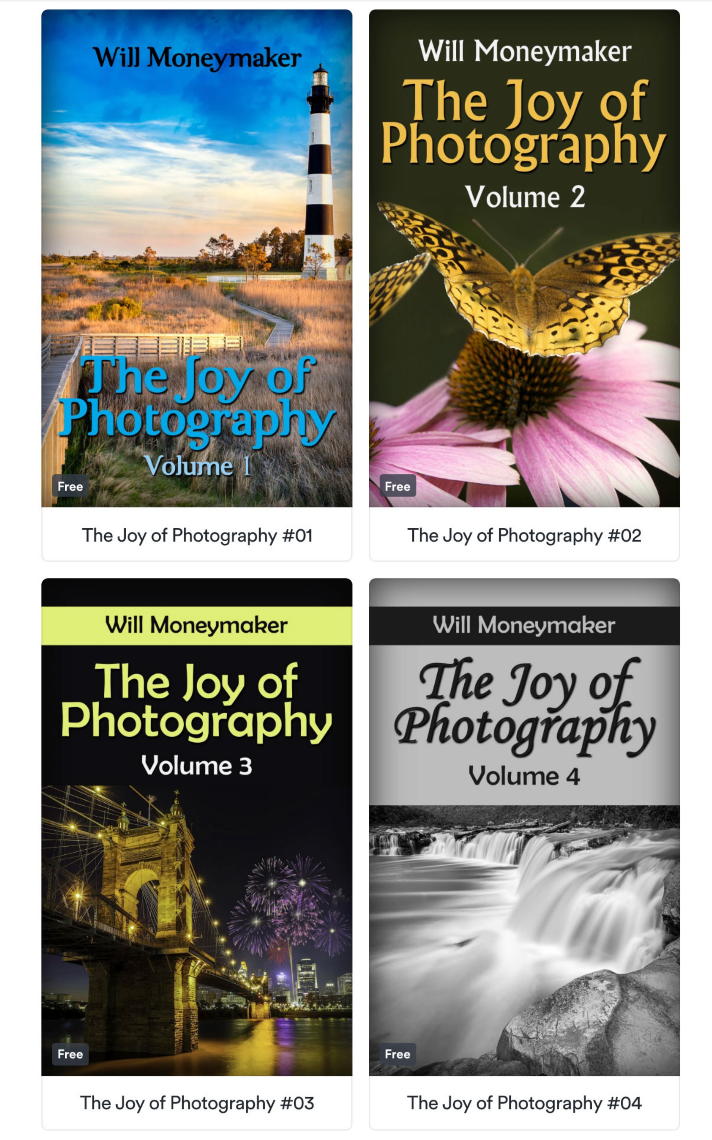 Complete Photography Collection (9 eBooks)