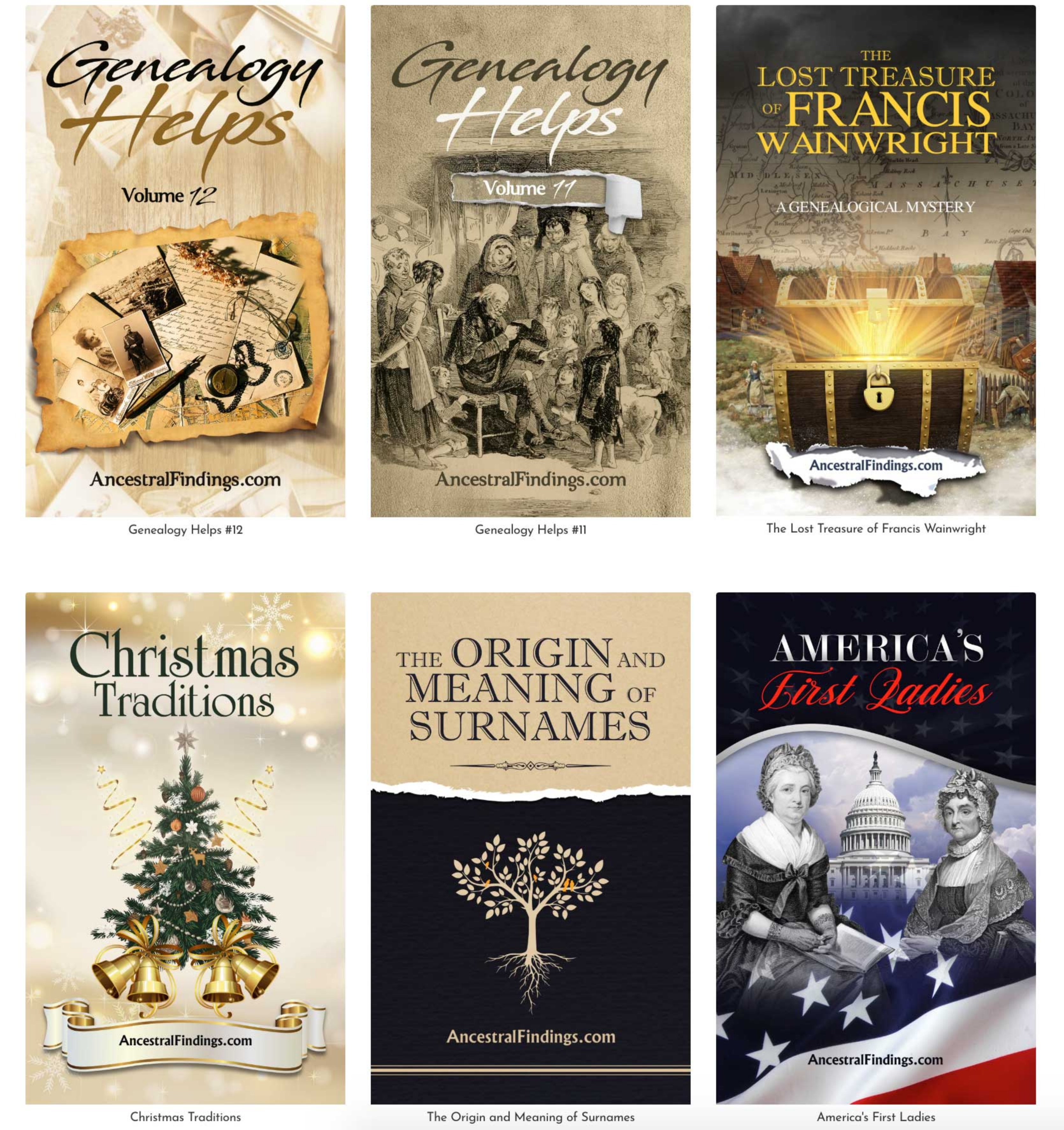 Complete Genealogy Collection (19 eBooks)