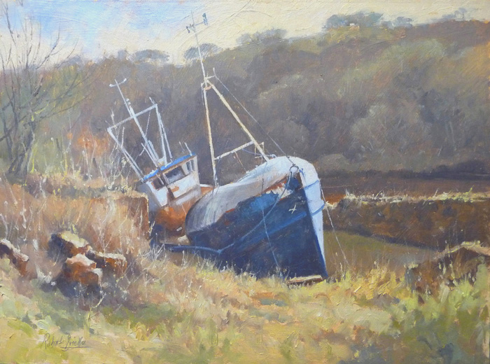 'High & Dry, River Esk, Whitby'