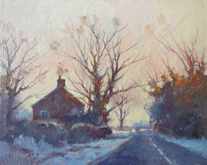 'Frosty Morning, North Duffield, North Yorkshire'