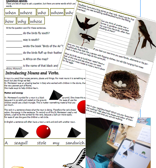 Beginning Language Arts with Birds of the Air A.Buckley