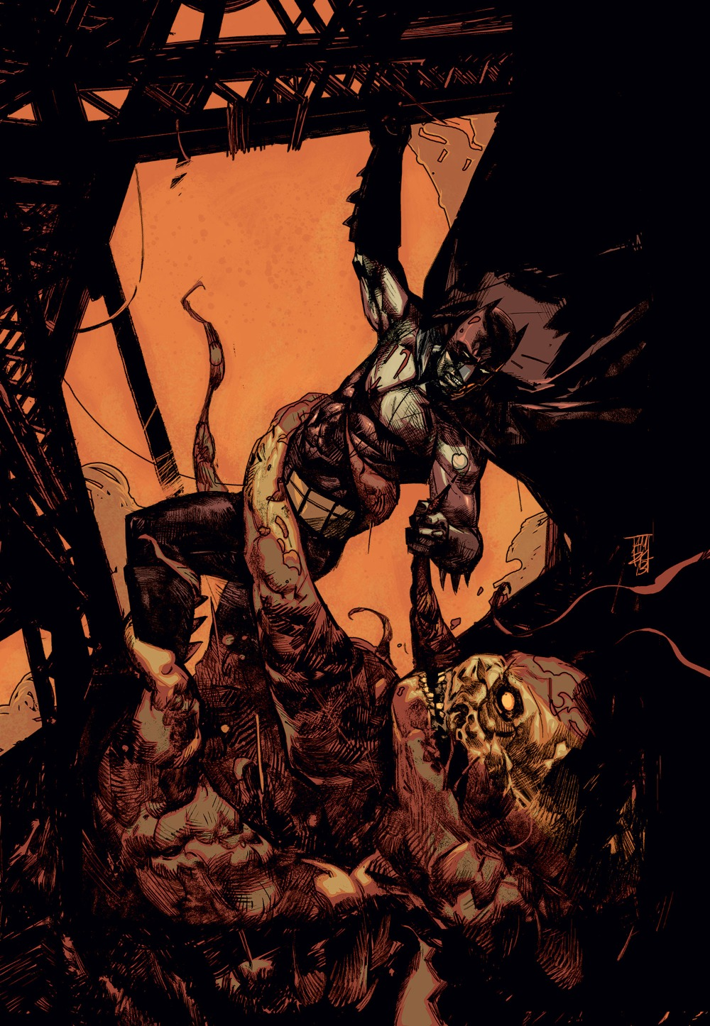 BATMAN: THE DARK KNIGHT #25