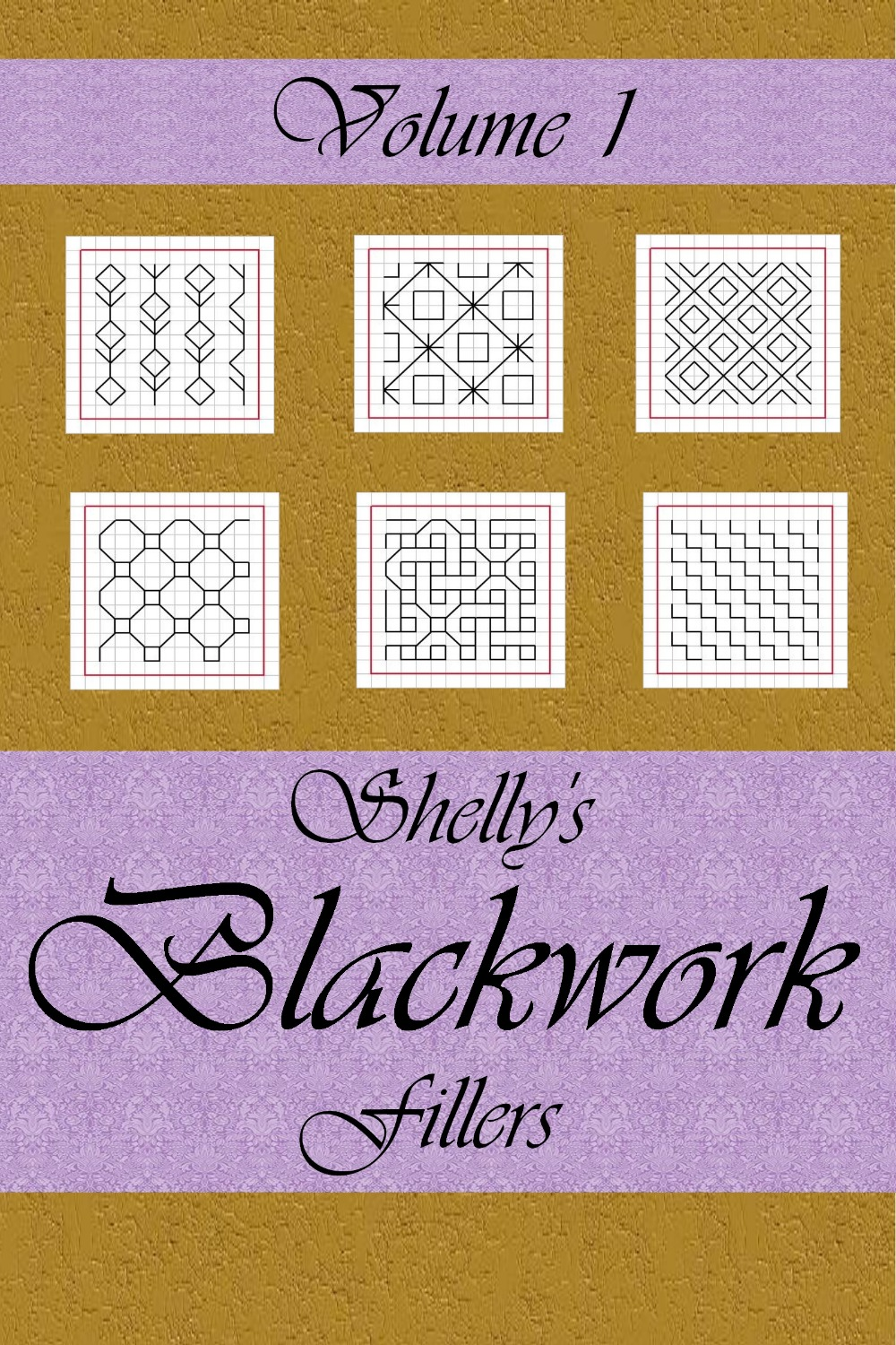 SHELLY'S BLACKWORK FILLERS VOL. 1 (MOBI Version)
