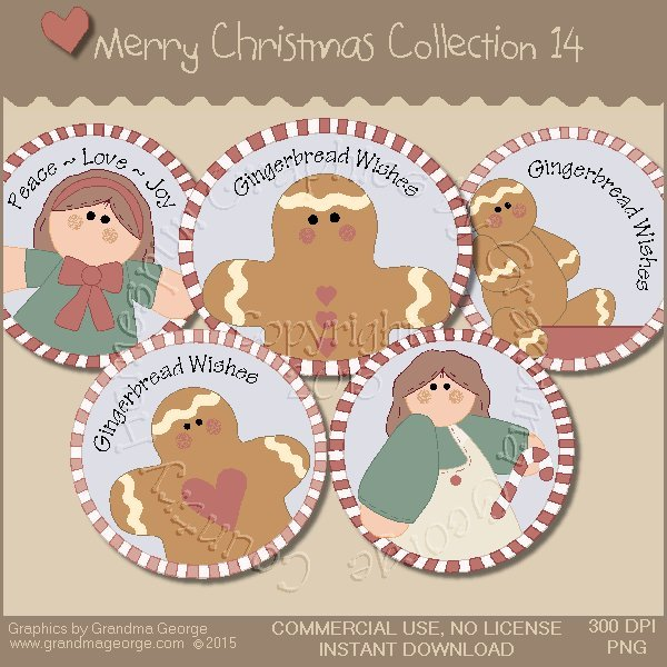 Merry Christmas Graphics Collection Vol. 14