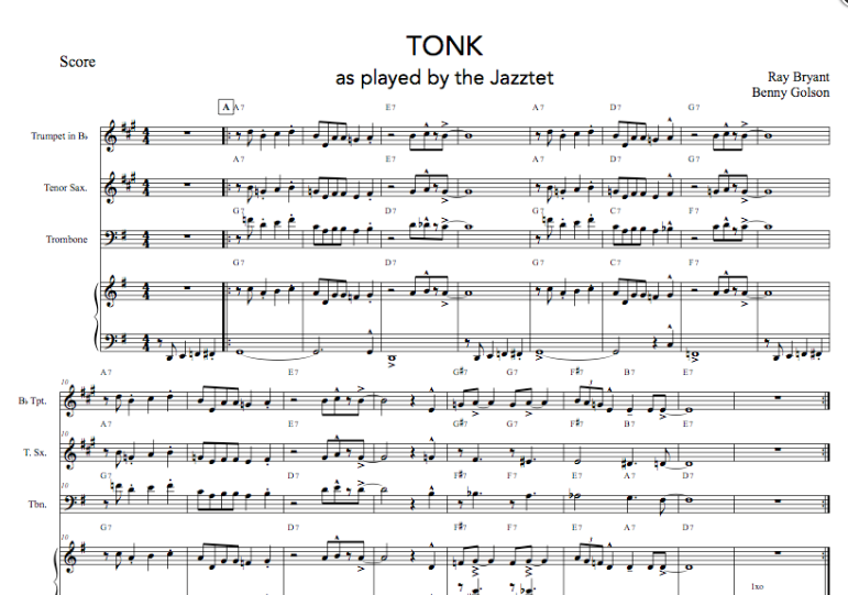 Tonk for Octet