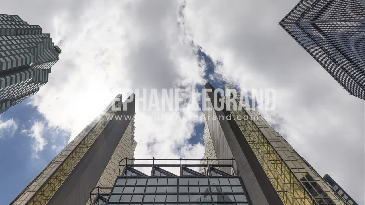 Toronto, Canada - Timelapse  - Skyscrapers of the Downtown